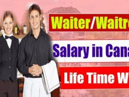 Waiter Waitress Needed In Canada
